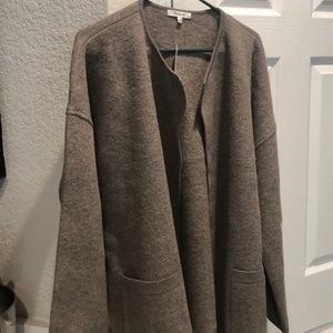 Madwell sweater coat